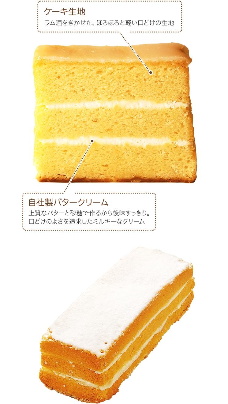 ラム酒砂菓子